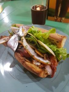 Min supergoda smörgås!