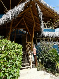 Azaluna eco-lodge, receptionen