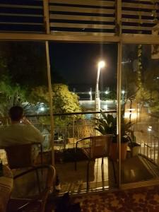 Utsikt från hotellet...